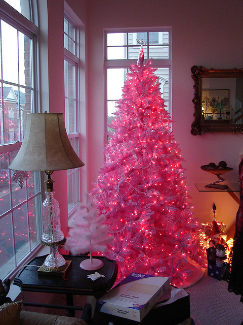 pink xmas tree lights | Roselawnlutheran