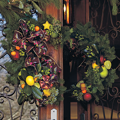 Two-Piece Christmas Wreath