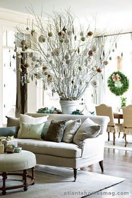 Christmas Tree Alternative – Towering Branches With Glass ...
